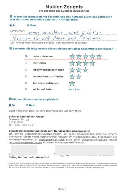 Bewertung für Immobilienmakler in Berlin Altbauwohnung Adlershof (246_40264)