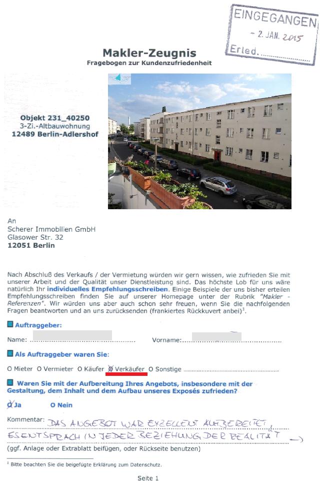 Verkaeufer-Zeugnis für Immobilienmakler Berlin (231_40250)