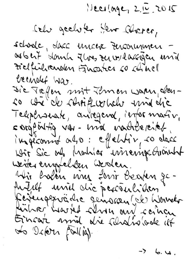 Immobilienmakler Berlin Empfehlungsschreiben vom Käufer 91184