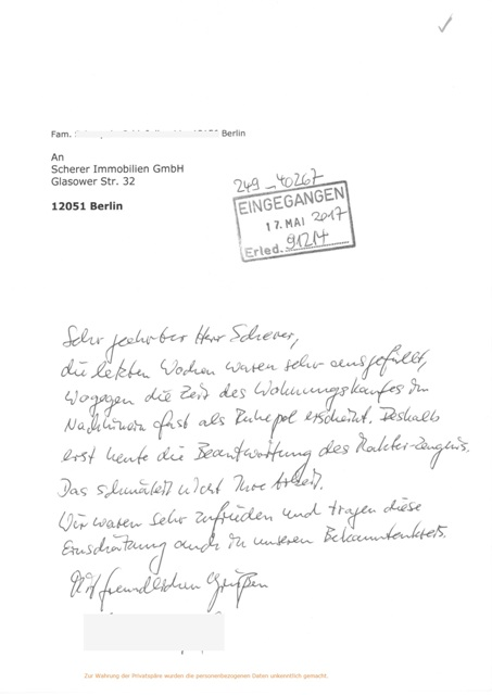 Empfehlung 91214 für Berliner Makler