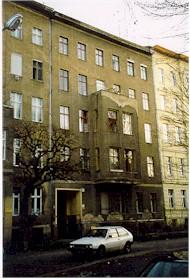 Vorderhausansicht Berliner Mietshaus Kreuzberg 156