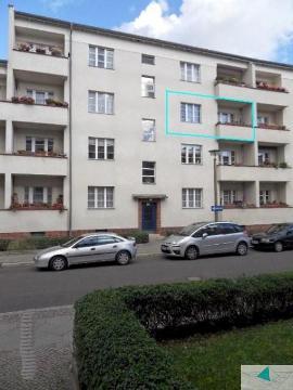 Berlin-Treptow-Köpenick (Adlershof)   Vermietete 3-Zimmer Eigentumswohnung Altbau mit Denkmalschutz