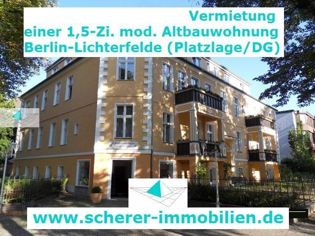 Immobilienmakler in Berlin vermietet in Berlin-Steglitz (1203-50155)
