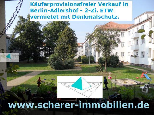 Immobilienmakler verkauft Wohnung in Berlin-Adlershof (242_40260)
