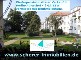 Makler verkauft Altbauwohnung in Berlin Adlershof (242_40260)