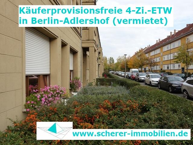 Referenzobjekt 4-Zi.-Altbau-ETW Berlin-Adlershof Altbau mit Denkmalschutz (255_40275)